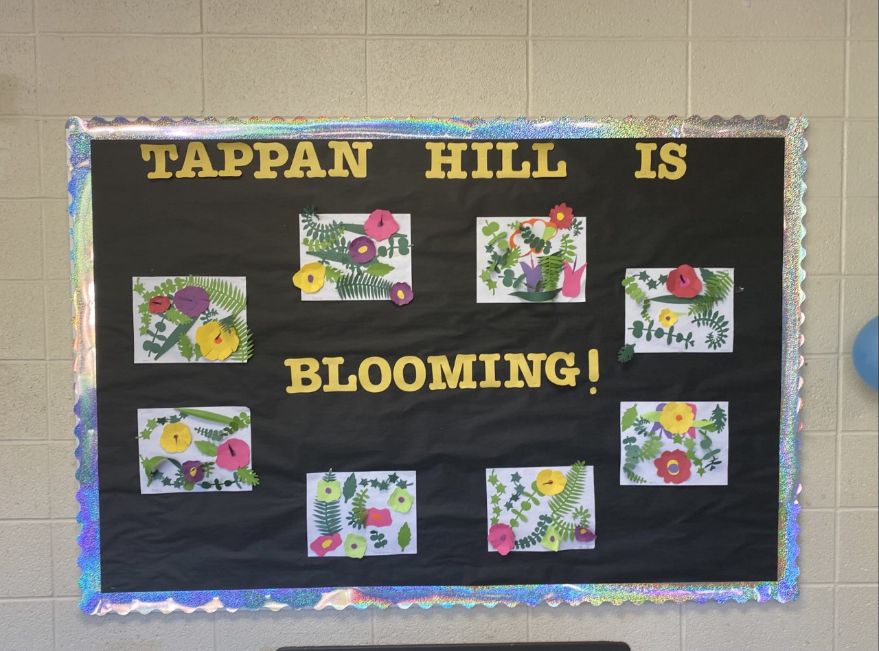 Tappan hill is Blooming.