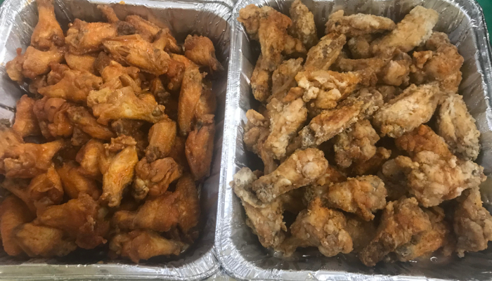 Wings made by staff