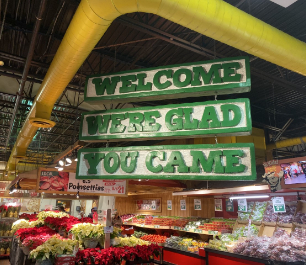Stew Leonard's Welcome Sign