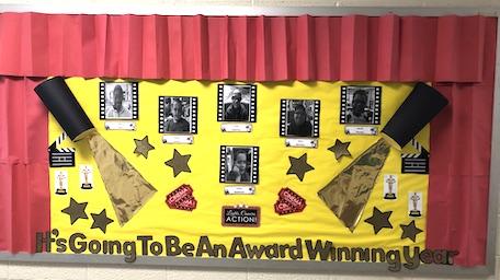 """Award Winning"" classroom bulletin board"