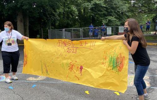 Beautiful yellow banner.