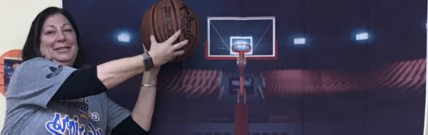 staff with basketball