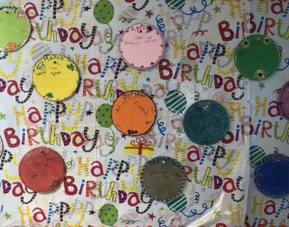 The Happy Birthday Board
