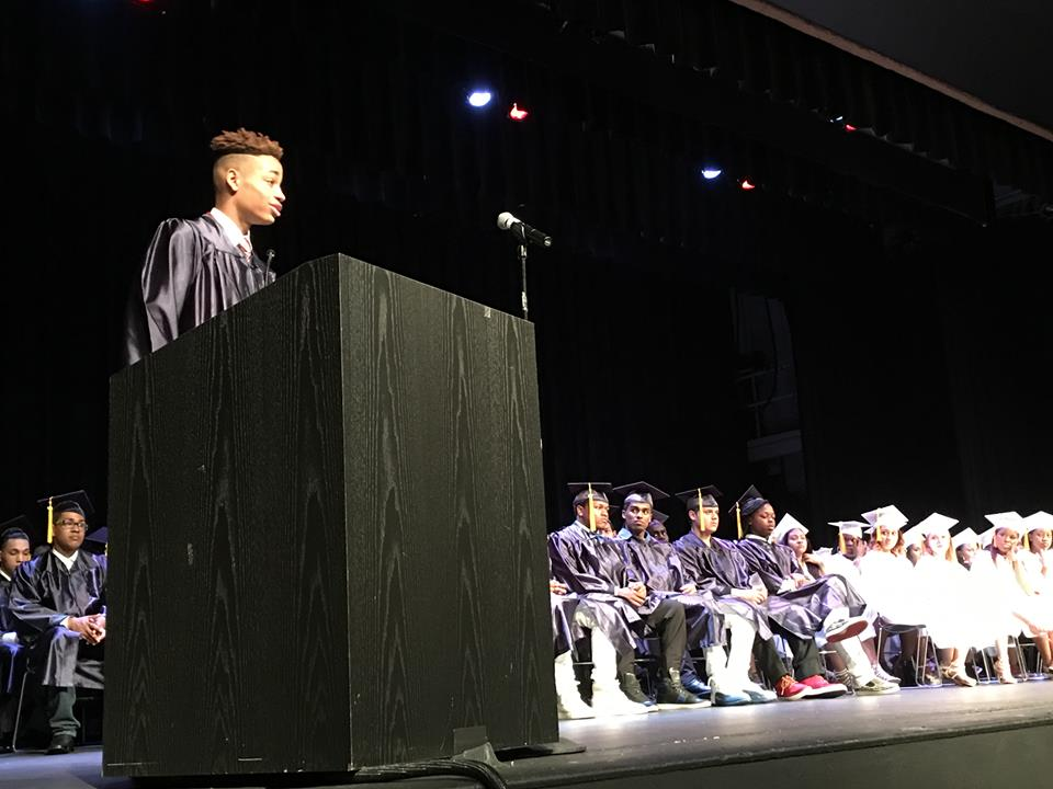 Class of 2016 valedictorian address by RD Matthew Sanchez-Almeda.