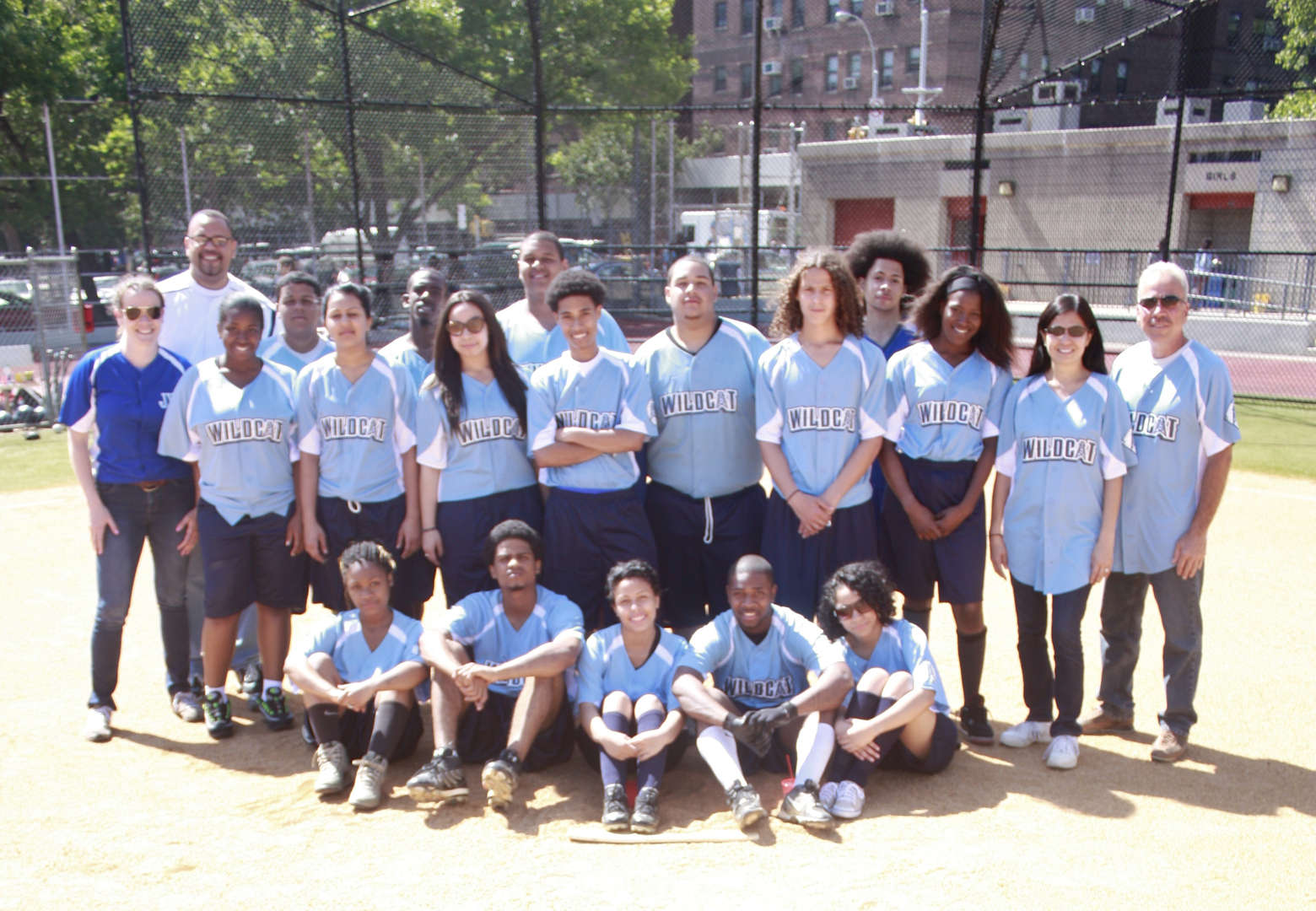 2012-2013 Wildcat Oilers Coed Softball Team