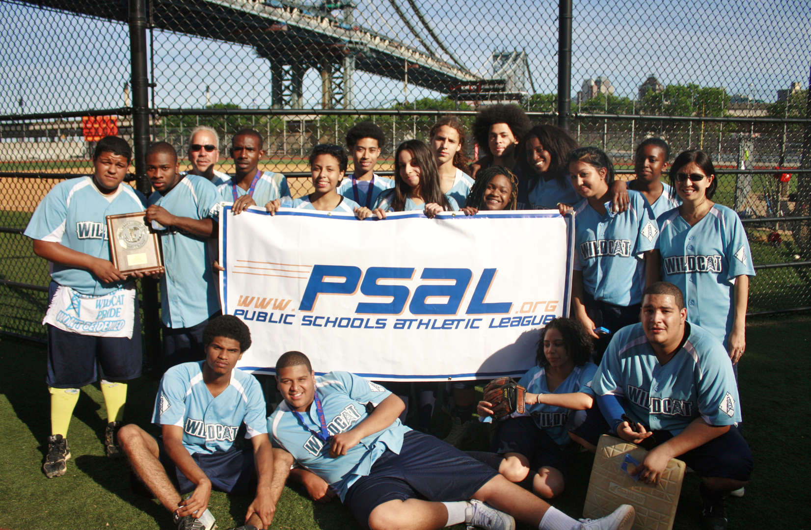 2012-2013 PSAL Coed Softball Champions (back to back undefeated season)