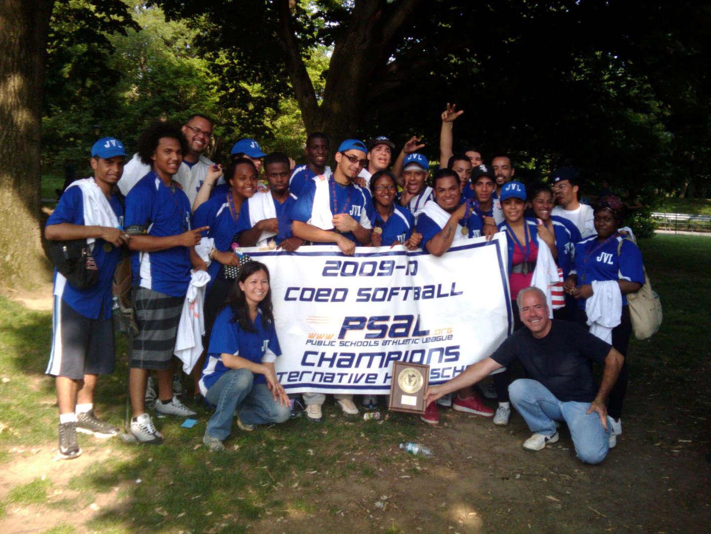 2009-2010 PSAL Coed Softball Champions