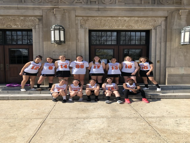 Tuckahoe Athletics had a ground breaking day today. Tuckahoe played their first girls lacrosse game in school history! Go Tigers!