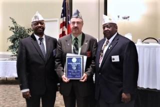 On Saturday June 8th, Mr. Byron Robichaux was awarded the American Legion Educator of the Year award.
