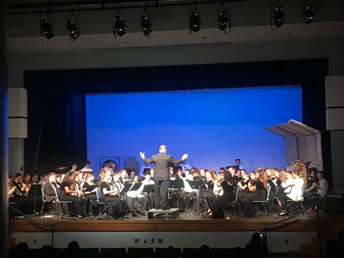 Concert Band Performing