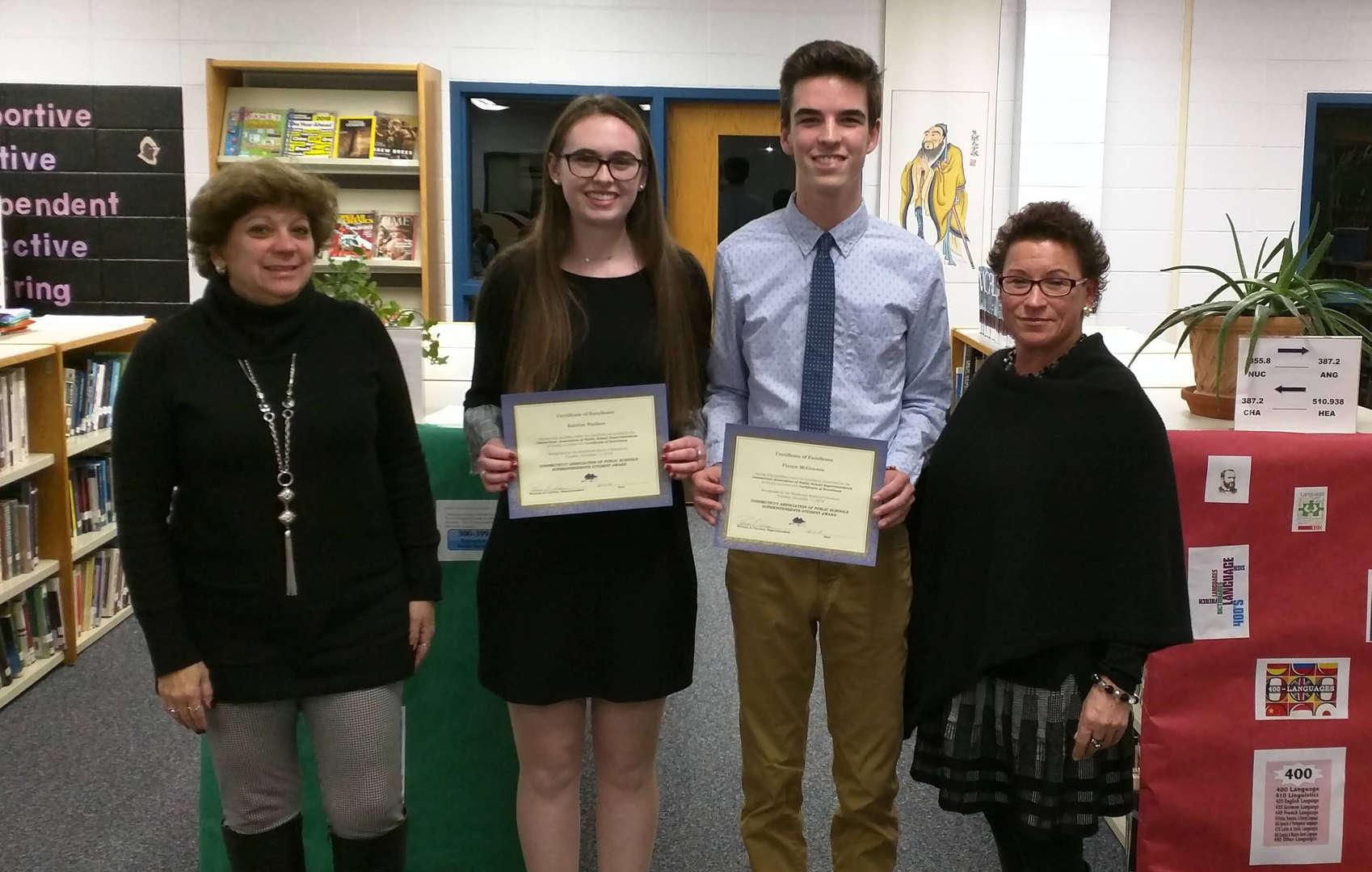 Superintendent Award Recipients