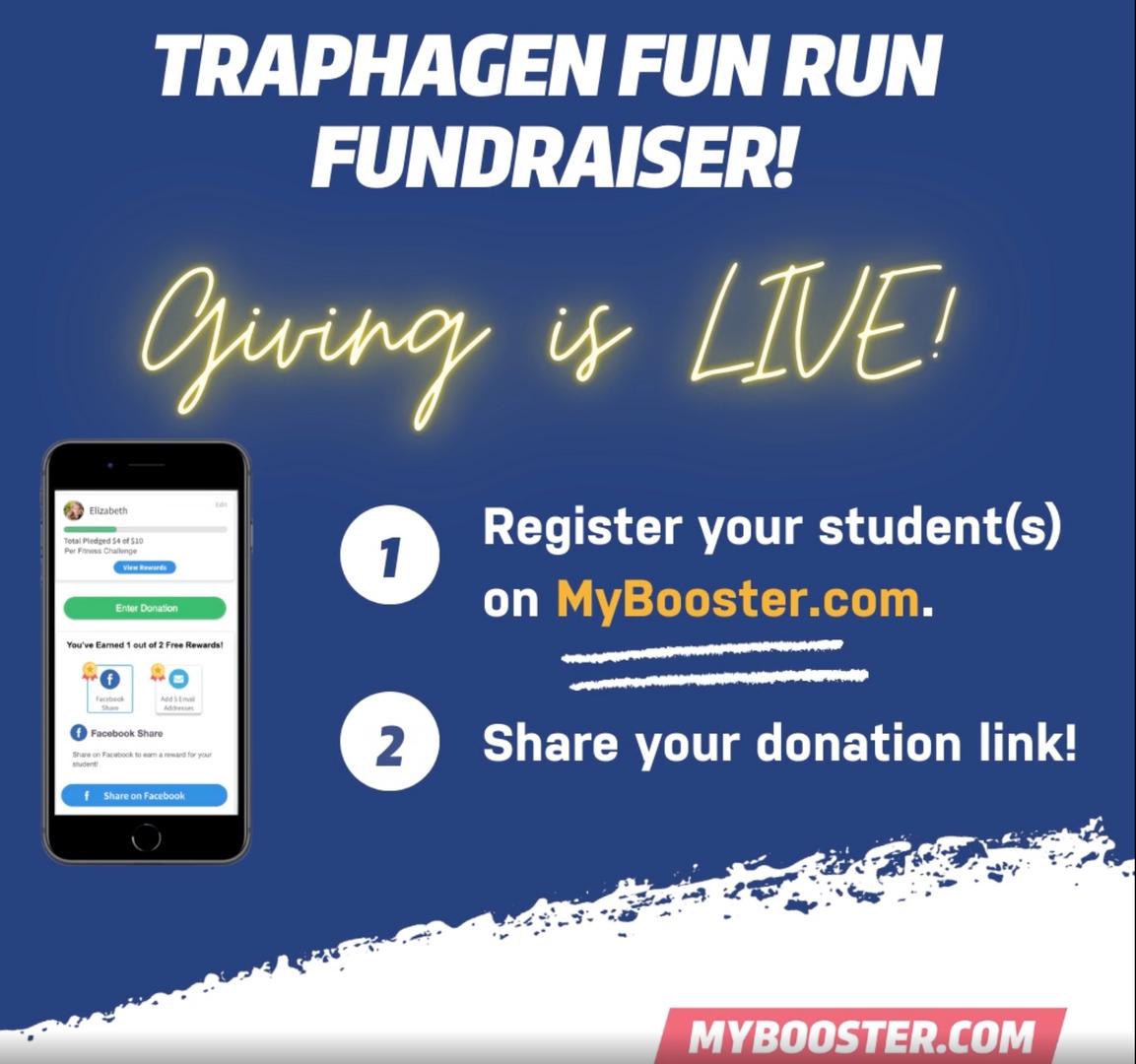 Traphagen Fun Run Fundraiser