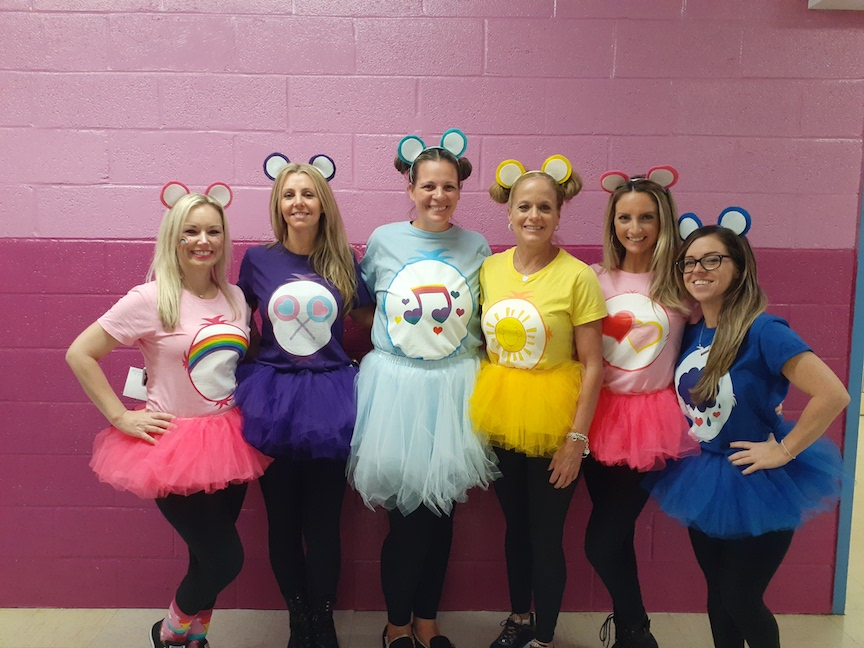these are the 5th grade teachers in tutus