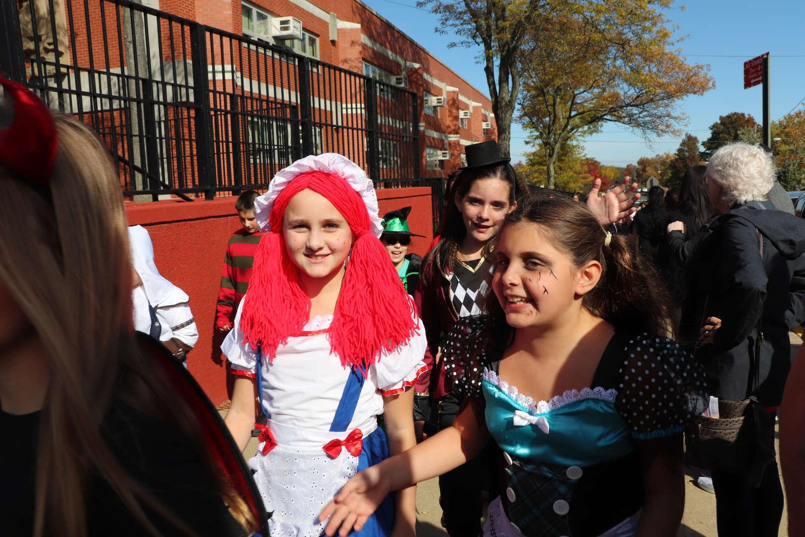 fifth grade girls moving forward