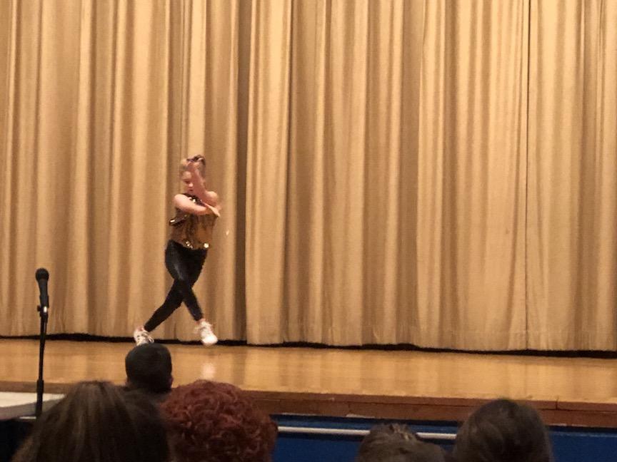 a modern dancer