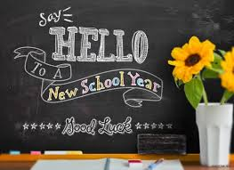 Say hello to a new school year! Good Luck!