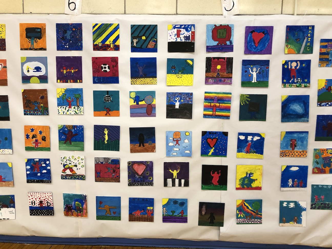 a quilt of pictures