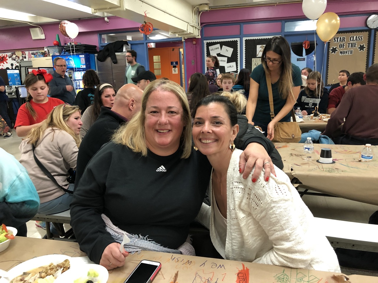 Our PTA president and friend