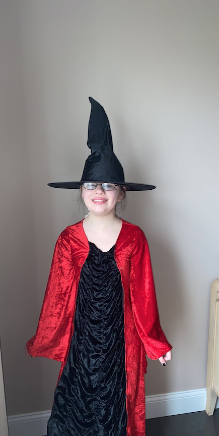 This is a picture of a witch