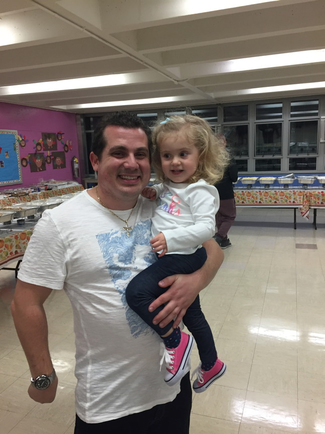 Mr. Vaccaro and his daughter