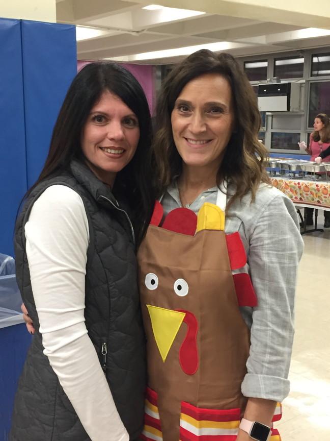 mrs. Peragine and Mrs.Dipadova