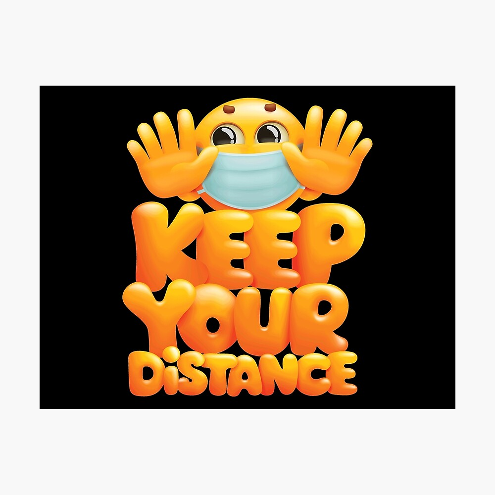 Keep your distance reminder
