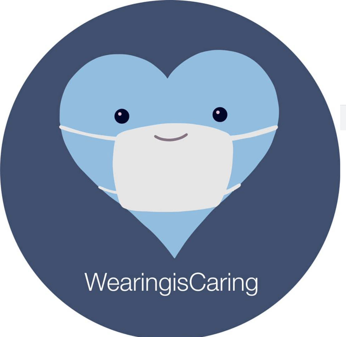 Wearing is caring!