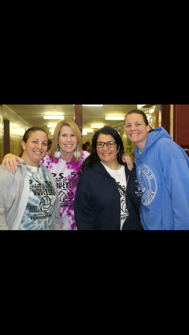 four teachers at the game